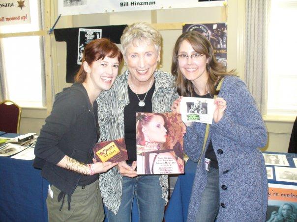 with Judith O'Dea & Cindy Marie Martin 2010 HorrorFind Festival