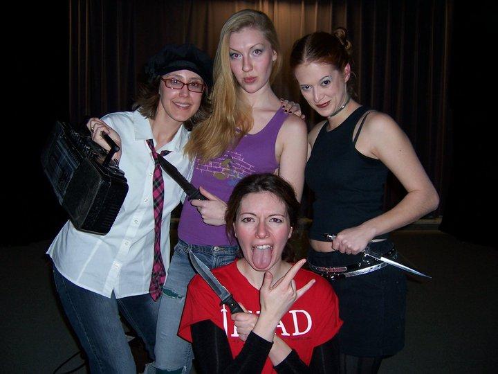 """Tybalt in all female """"Romeo & Juliet"""" fight scene"""