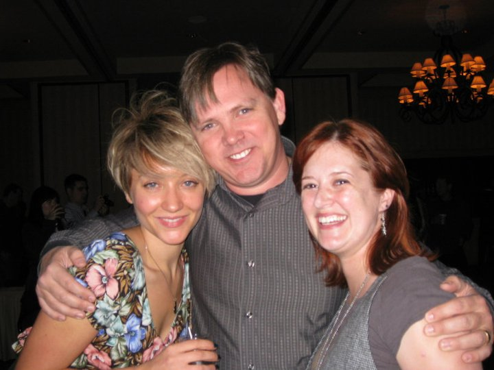 "with Gretchen Lodge & Robin Cowie  ""Lovely Molly"" Wrap Party"