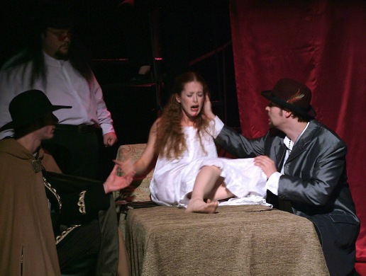 "Mina in ""Vlad Dracula: The Musical"""