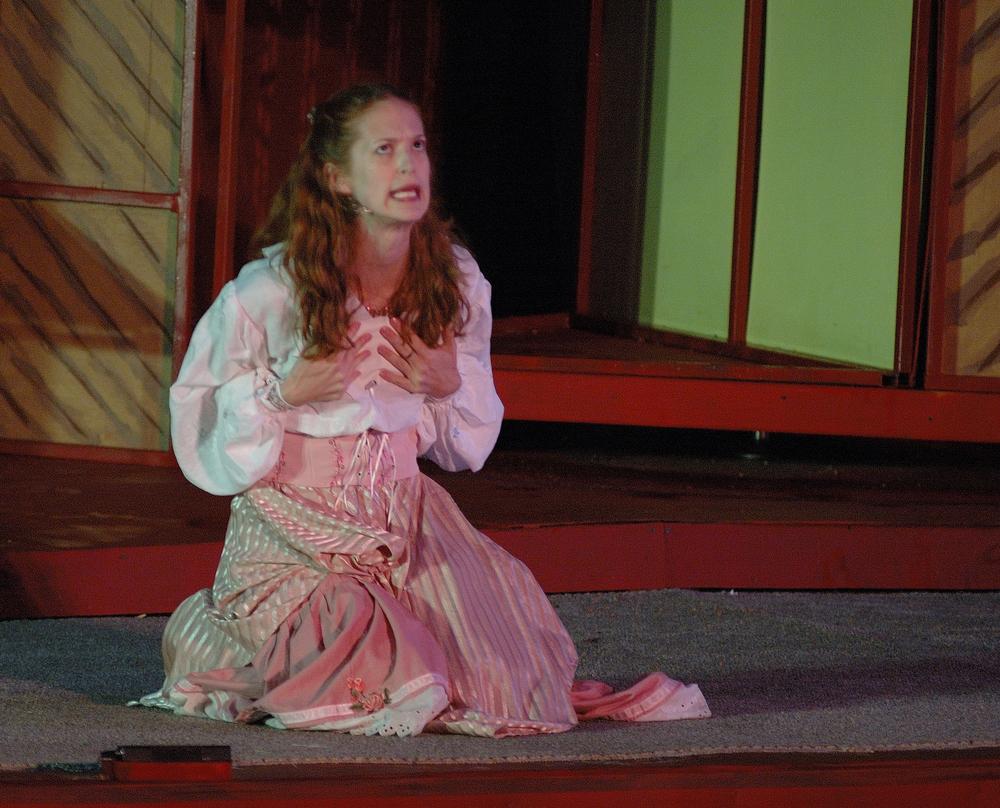 """Julia in """"The Two Gentlemen of Verona"""""""