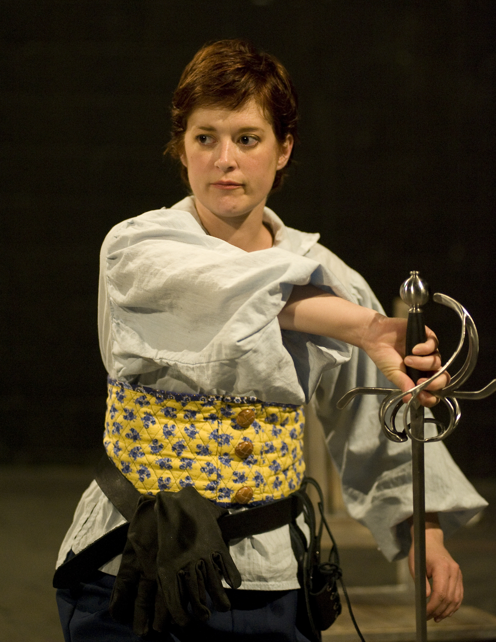 "Cecile in ""The Fifth Musketeer"""