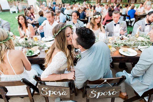 Sposa e Sposo baciare! ❤️😘