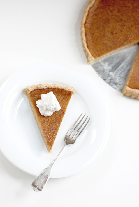 A delicious shot of pumpkin pie from The Faux Martha's Grain Foods Foundation sponsored post! Image c/o The Faux Martha.