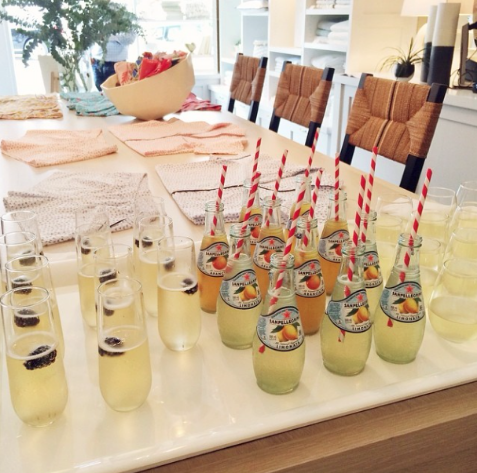 Beverages and accessories aplenty! Image c/o @shannonwillardson.