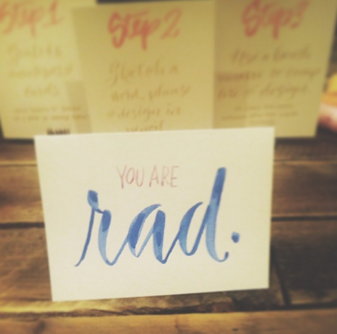Rad– the perfect way to sum up Alt Summit. Image via @collectivelyinc.
