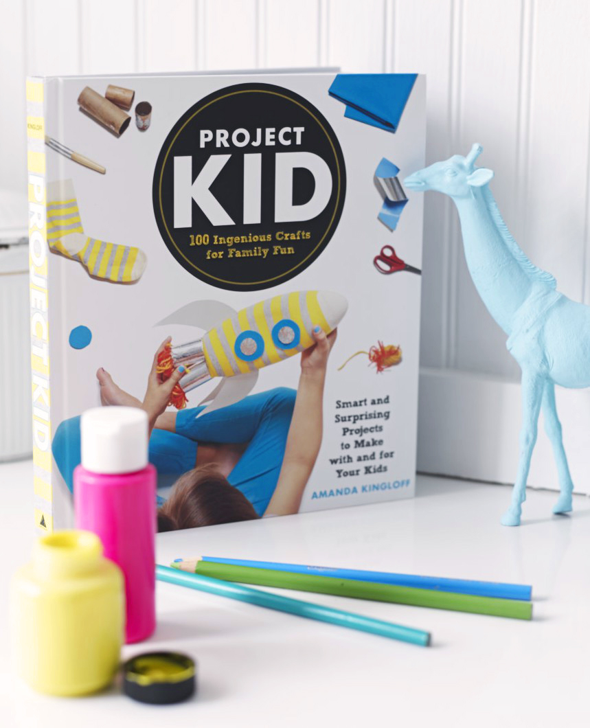 Photograph by Alexandra Grablewski Project Kid Crafts That Go hits shelves September 6, 2016! You can pre-order it today on Amazon!
