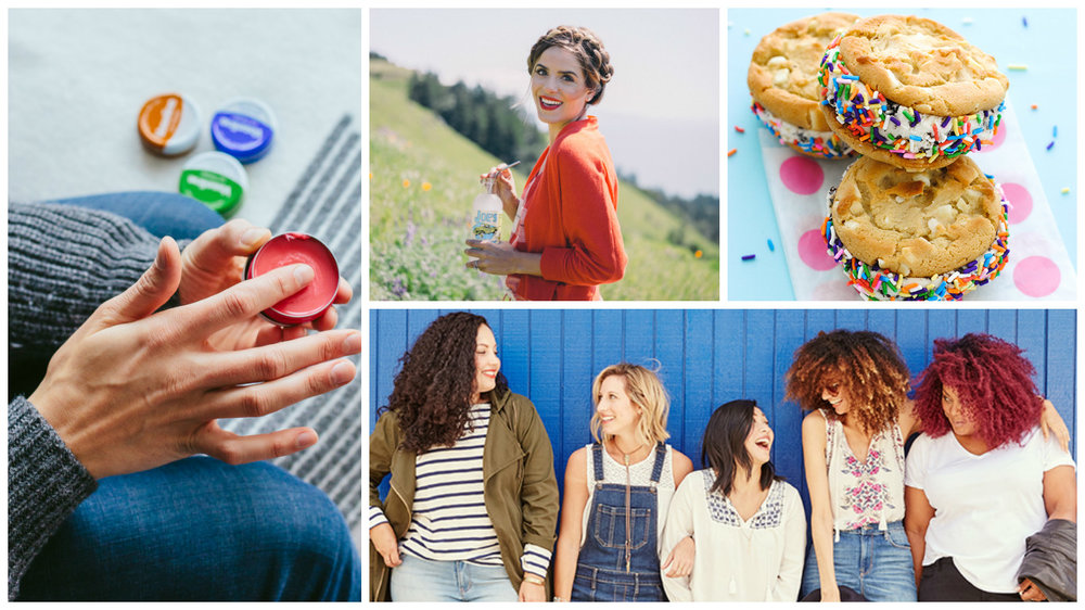 Collaborator Credit (left to right clockwise): The Fox & She, Gal Meets Glam, The Cake Blog & the ladies from the 2016 Old Navy Denim Style shoot featuring: The Curvy Fashionista, Kendall Keith, Shop Sweet Things, Advice From a Twenty-Something and Girl With Curves.