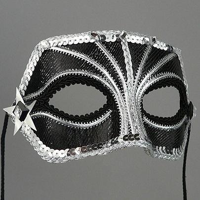 Luna Companion Masquerade Mask Thumb