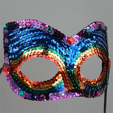 Rainbow Companion    Masquerade Mask Thumb