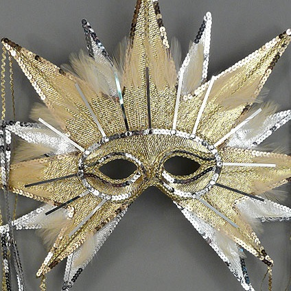 Sun Masquerade Mask Thumb