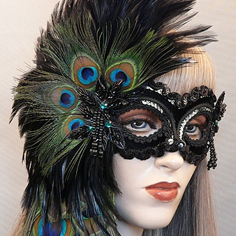 Cassandra Masquerade Mask Thumb