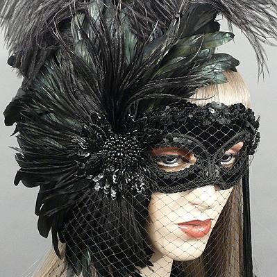 Mystery Masquerade Mask  Thumb