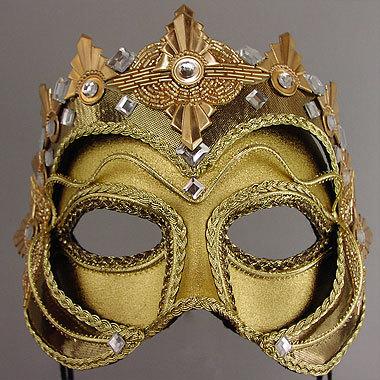 El Dorado Masquerade Mask Thumb