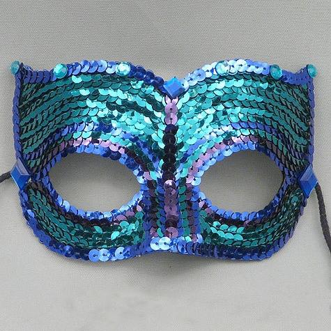 Jade Companion Masquerade MaskThumb