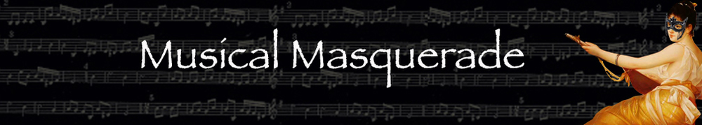 Musical  Masquerade Mask Collection Banner