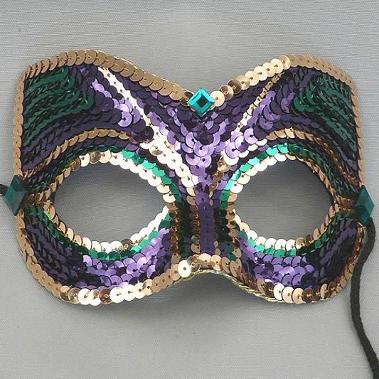 Companion Mardi Gras Masquerade Mask Thumb