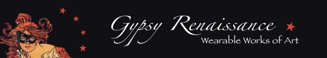 Gypsy Renaissance - Handmade masquerade masks, headbands, and hair clips