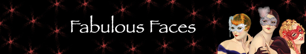 Fabulous Faces Masquerade Mask Collection Banner