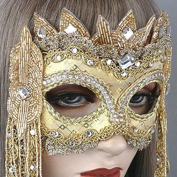 Rapunzel Masquerade Mask Thumb