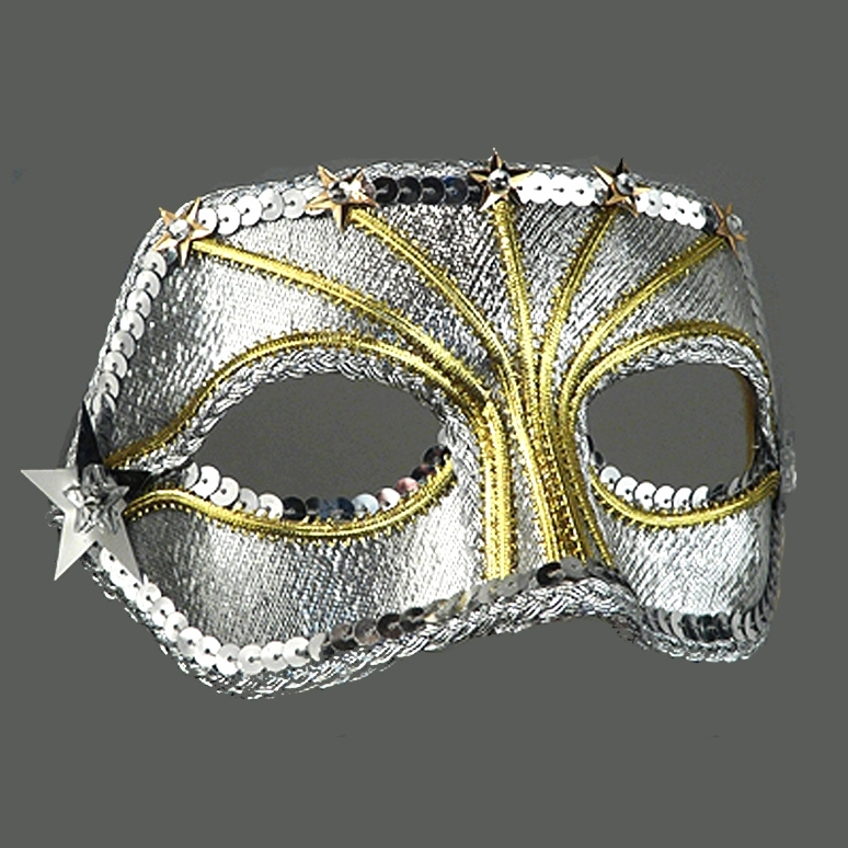 Celestial Companion Masquerade Mask Thumb
