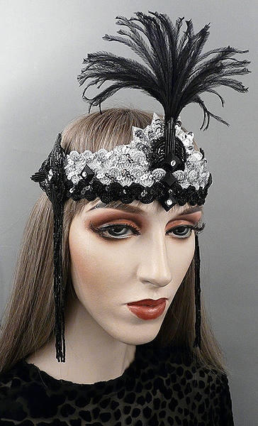 Charleston Gatsby Flapper Headband