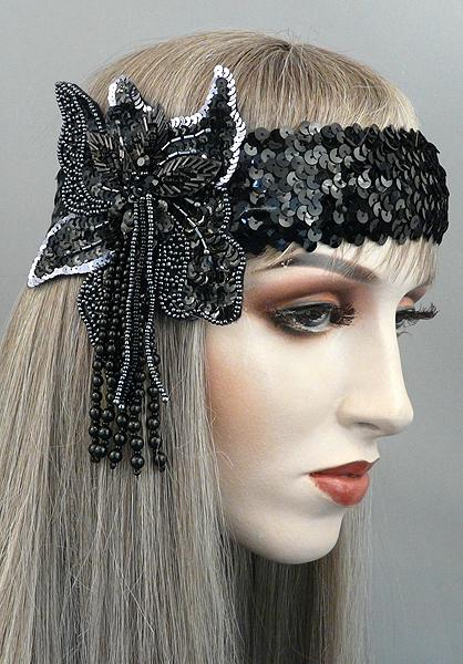 Soirée Gatsby Flapper Headband