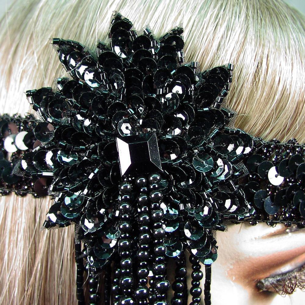 Velma Gatsby Flapper Headband Close