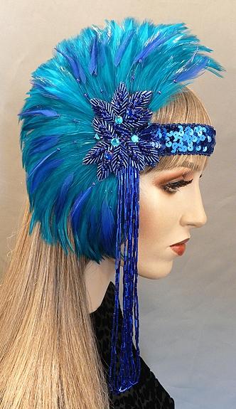 Bernadine Gatsby Flapper Headband