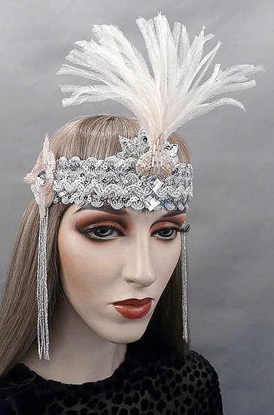 Audrey Gatsby Flapper Headband