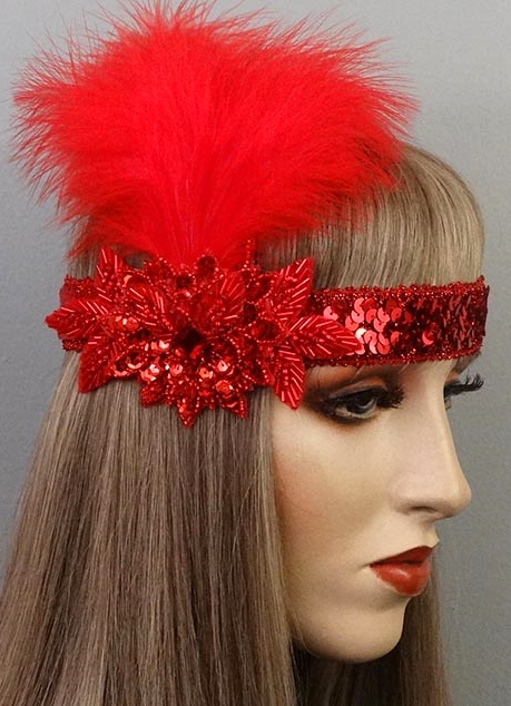 Ruby Gatsby Flapper Headband