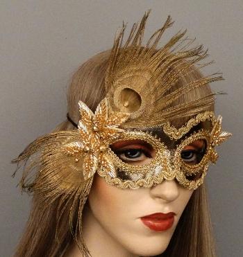 Tiffany Masquerade Mask now Available in All Gold  sc 1 st  Gypsy Renaissance & Blog u2014 Gypsy Renaissance - Handmade masquerade masks headbands and ...