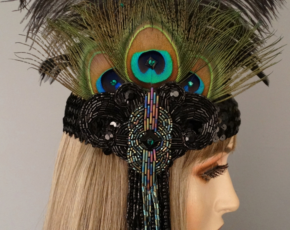 cabaret close detail view headband.JPG