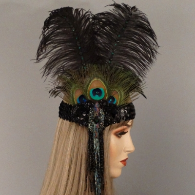 CabaretGatsby Flapper HeadbandThumb