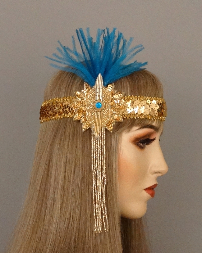santa fe art deco headband.JPG
