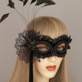 sweet black angel masquerade mask.JPG