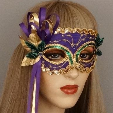 Carnival Mardi GrasMasquerade Mask Thumb