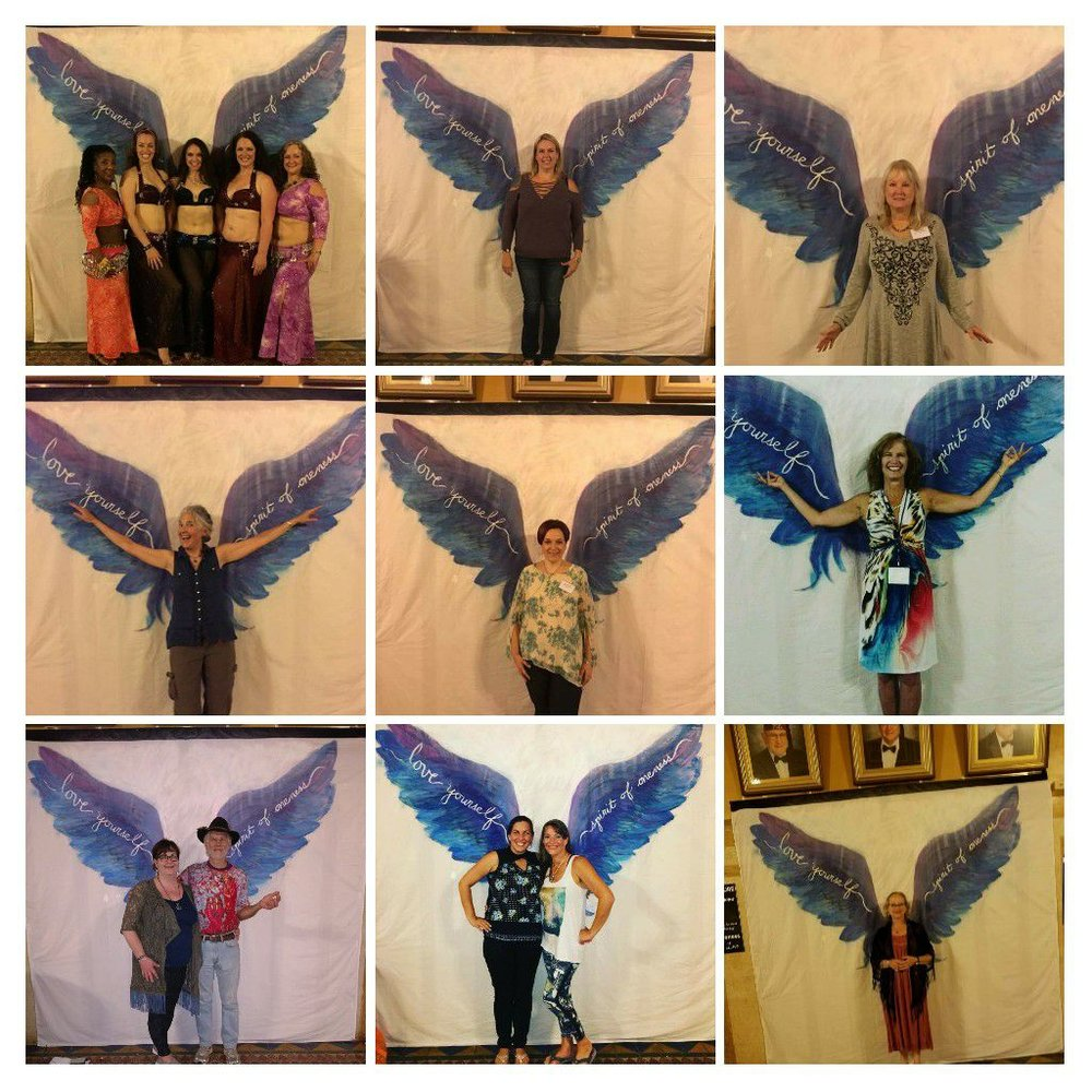 Angel Wings at Spirit of Oneness 2017