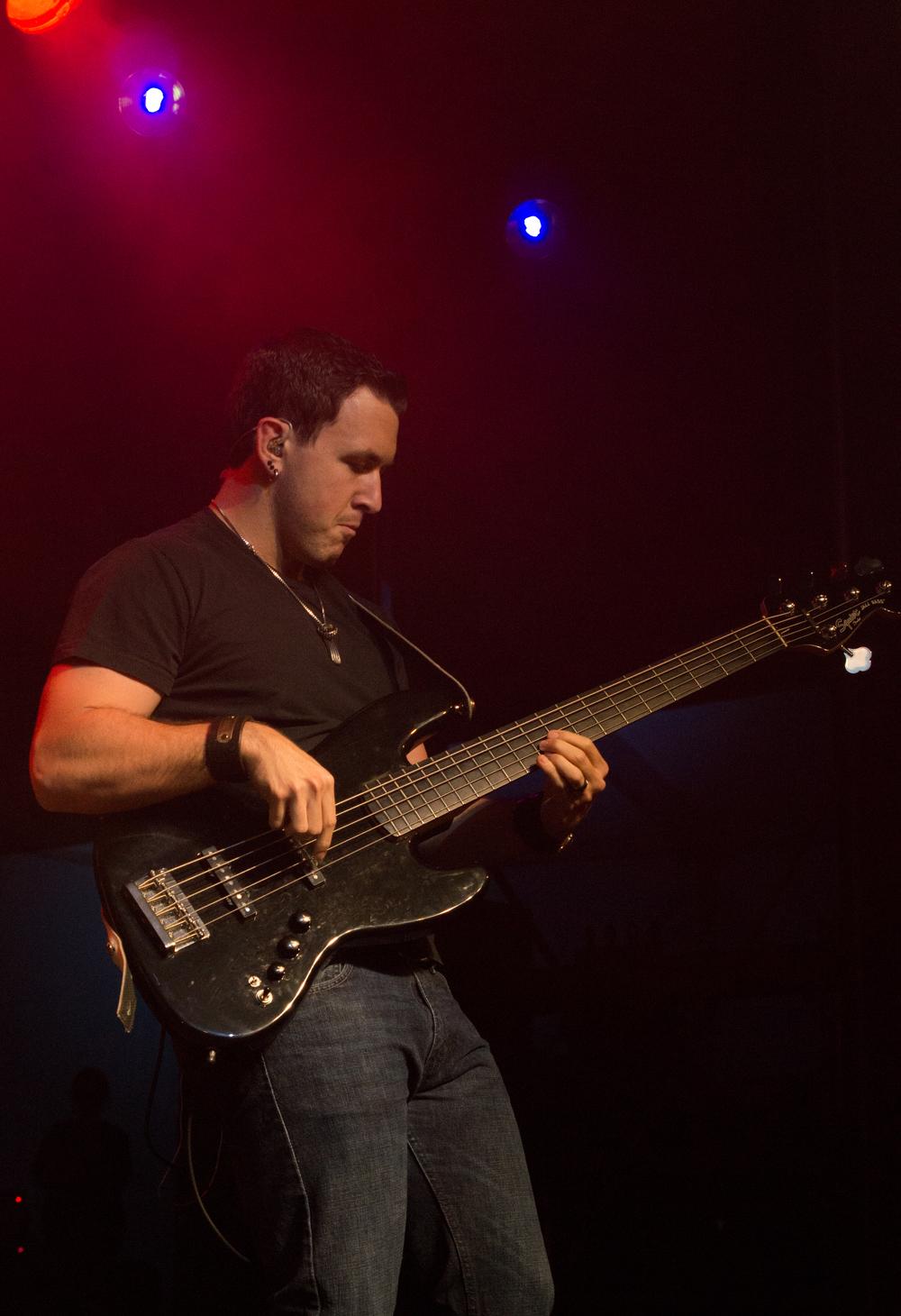 """Very solid musician/ bass guitar player."""