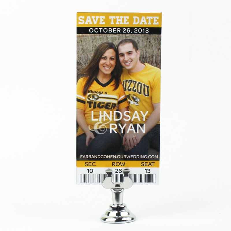 Lindsay & Ryan Magnet Save the Date