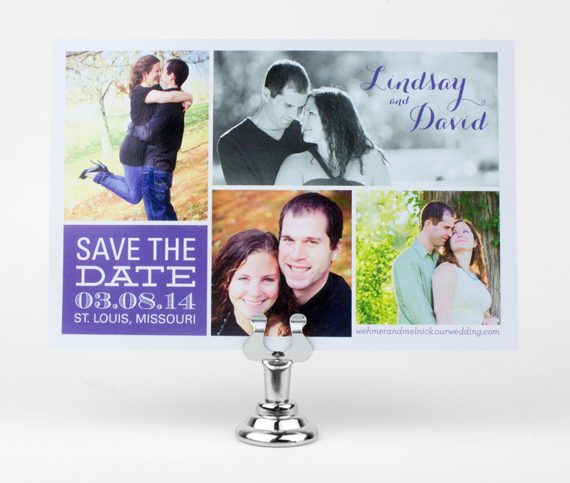 Lindsay & David Magnet Save the Date