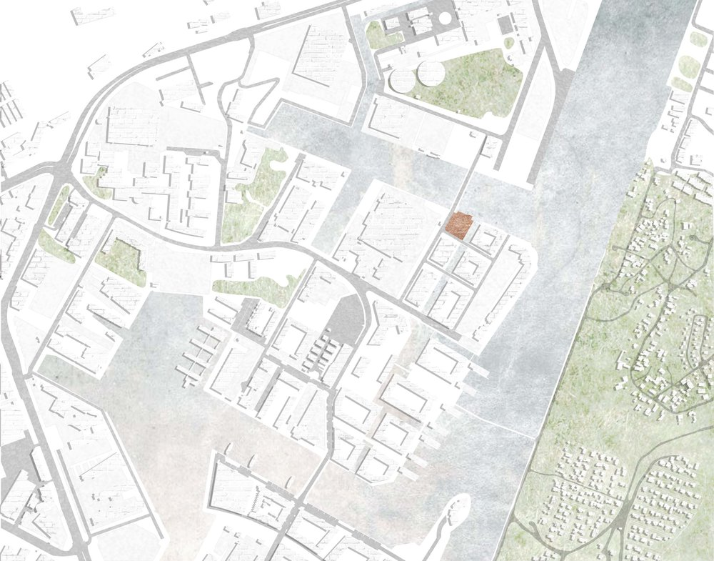 South Harbour Site Plan 1:1000, Megan Blake 2016