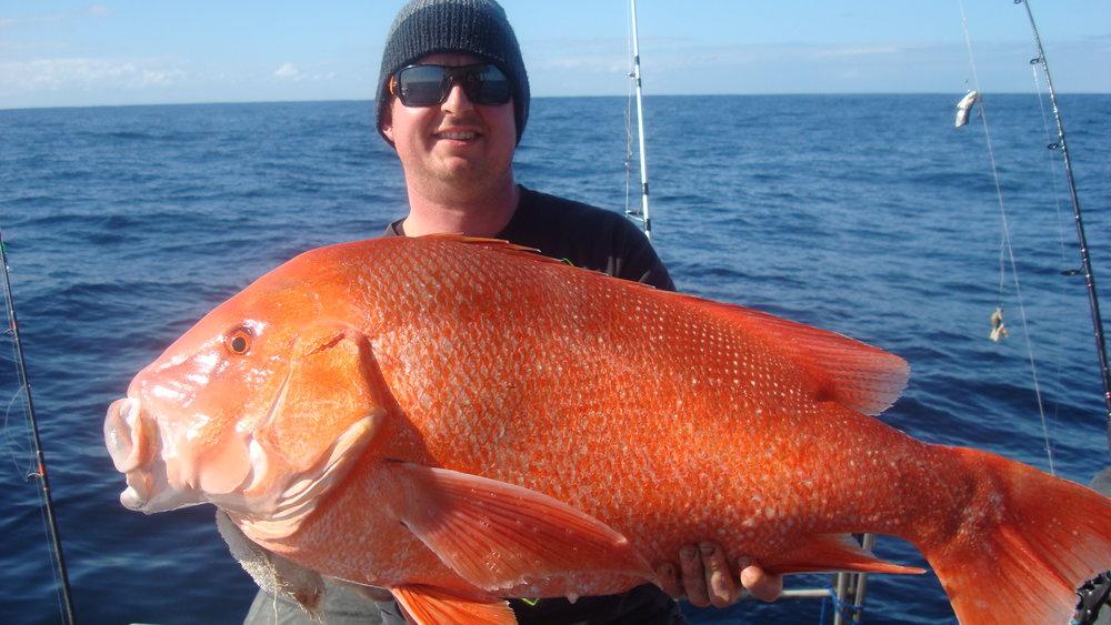 Jeremy's 15kg Red Emperor.