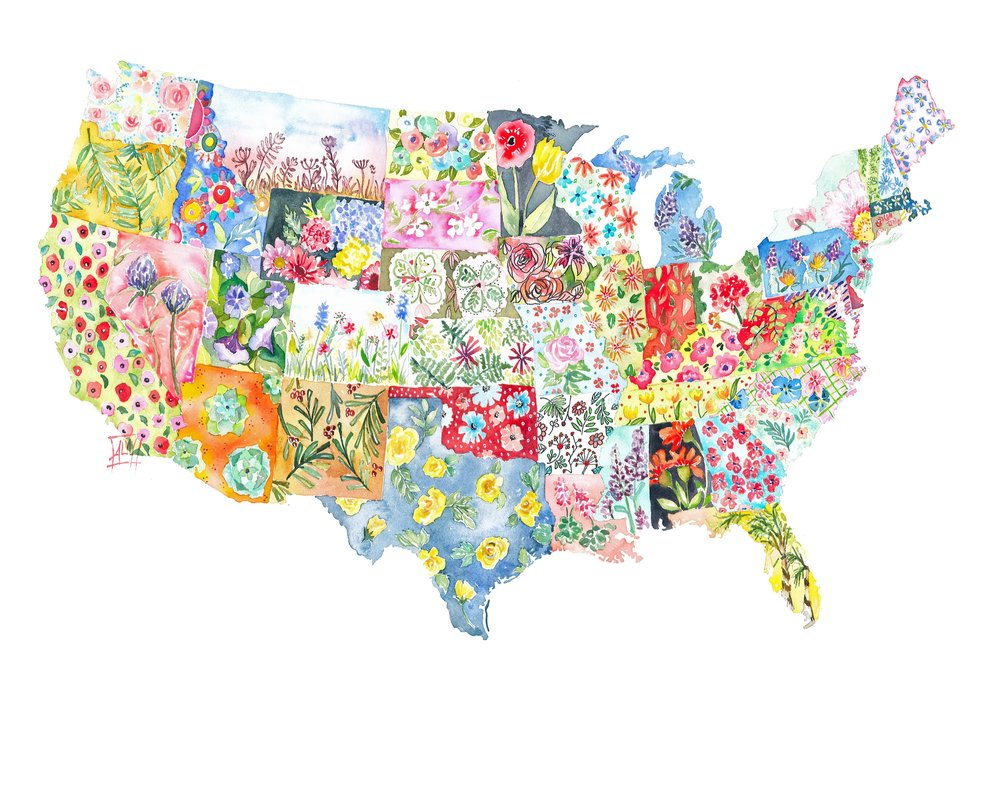 The United State of Flowers