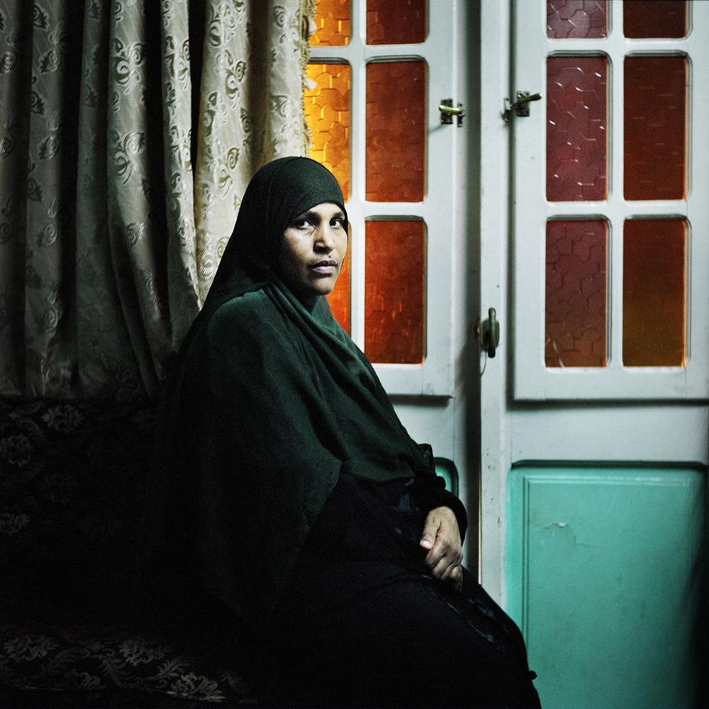 Abla Farok Ahmed. Cairo, Egypt, October 2011.
