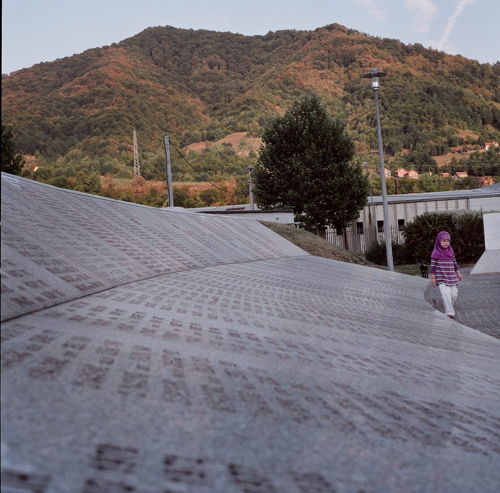 Memorial. Srebrenica, Bosnia and Herzegovina, August 2012.