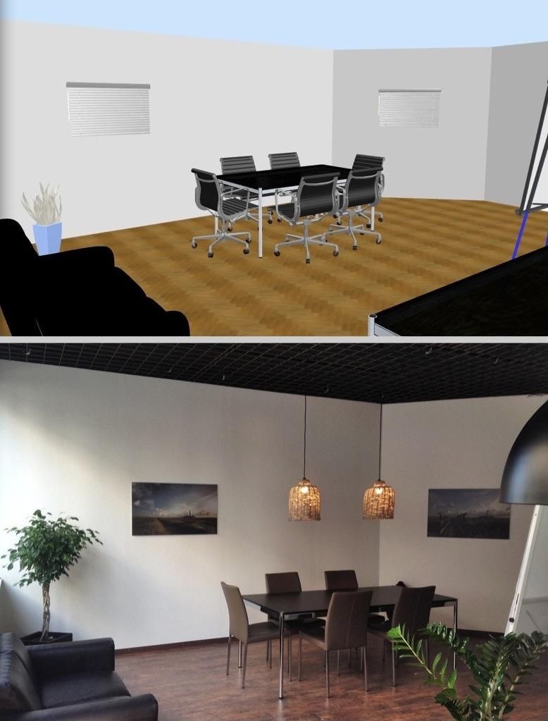 Aus Vision wird Wirklichkeit - neue Büroräume im Staldenhof 18 | CH 6014 Luzern