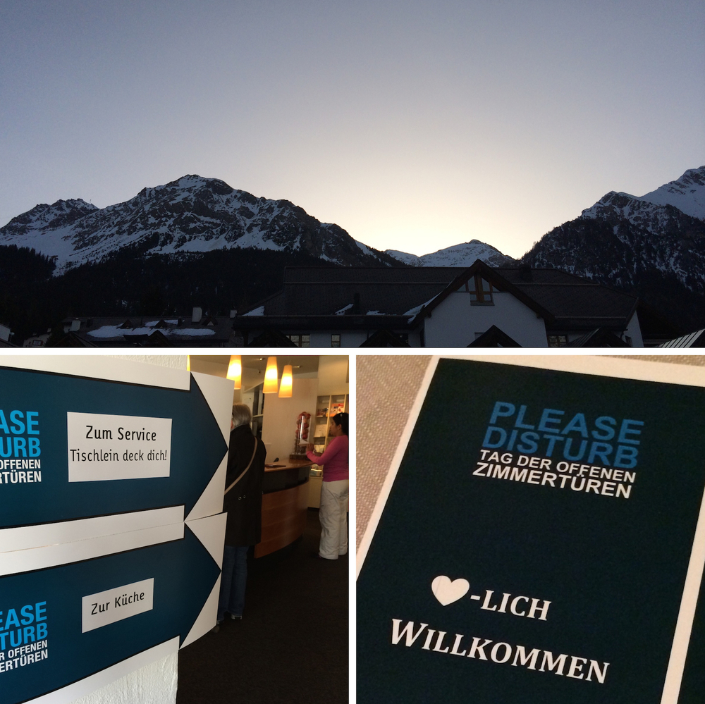 Der Tag beginnt für Please Disturb - die  grösste Hotelschau der Schweiz
