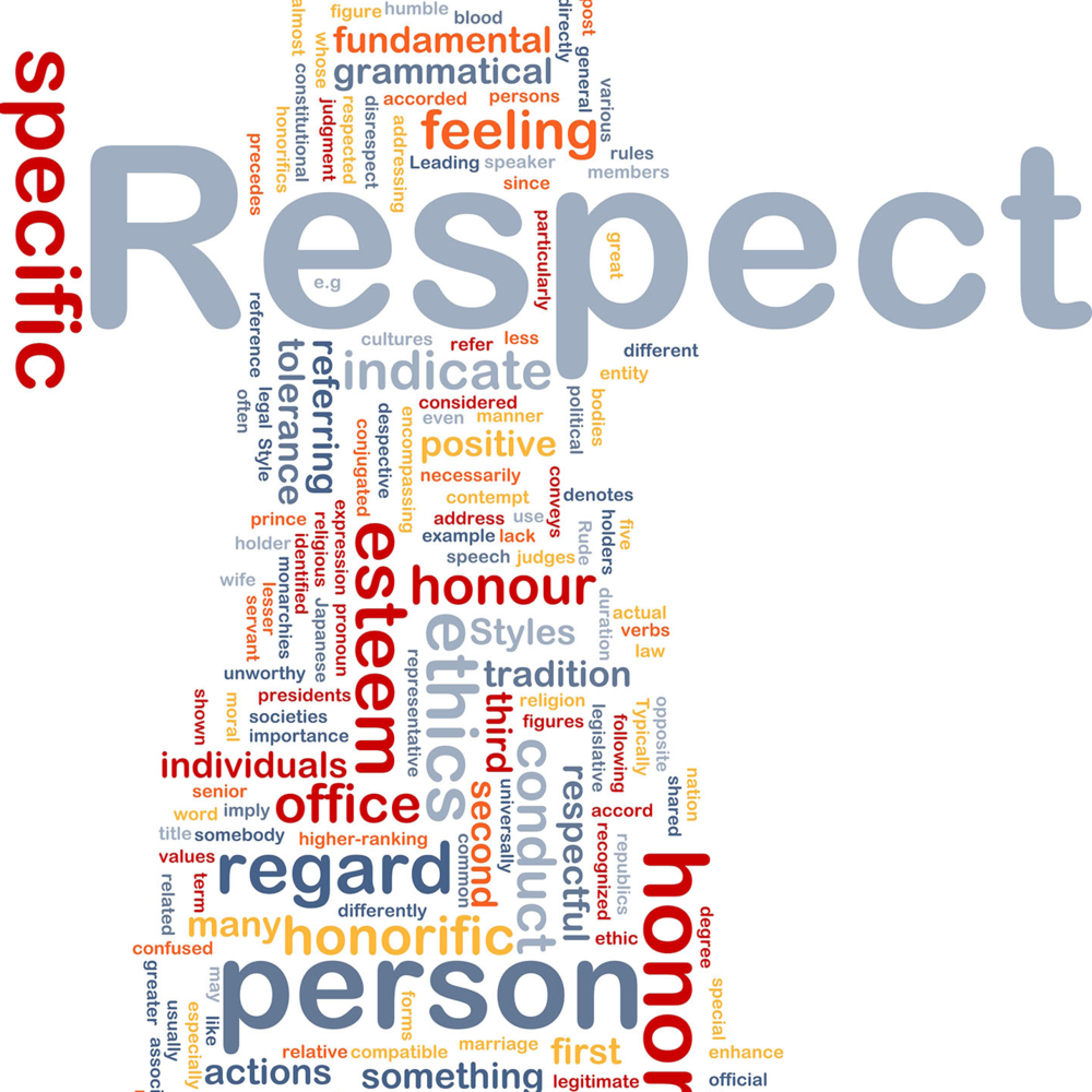 Respect is as essential aspect of the YEES philosophy.