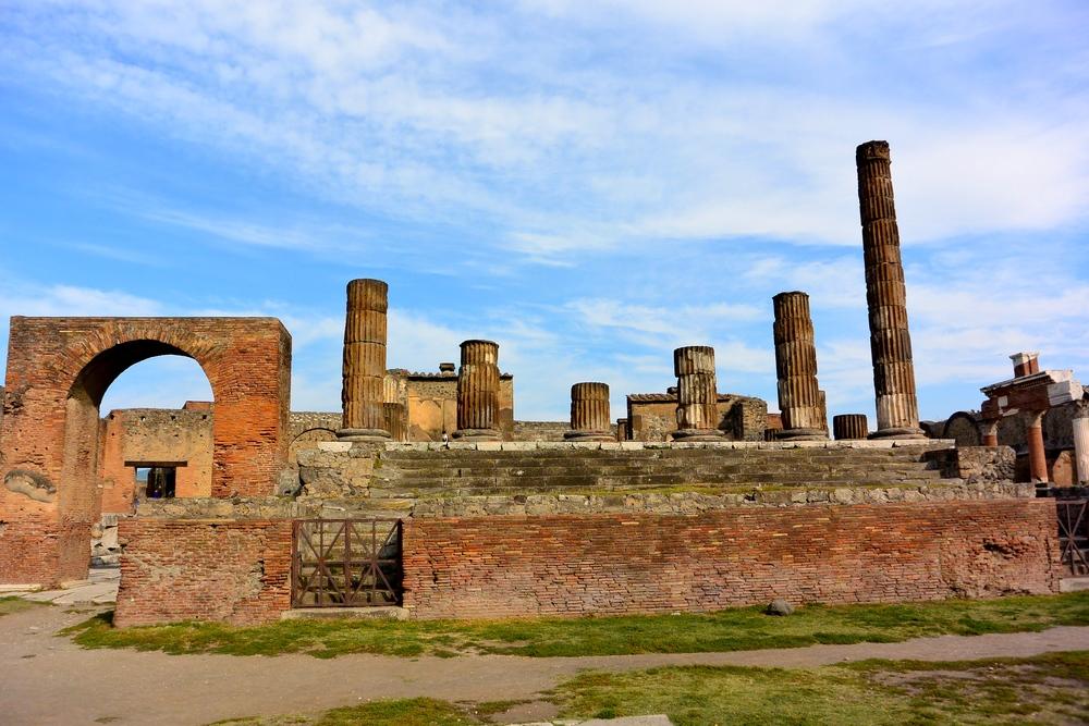 UNESCO Site Pompeii, Italy